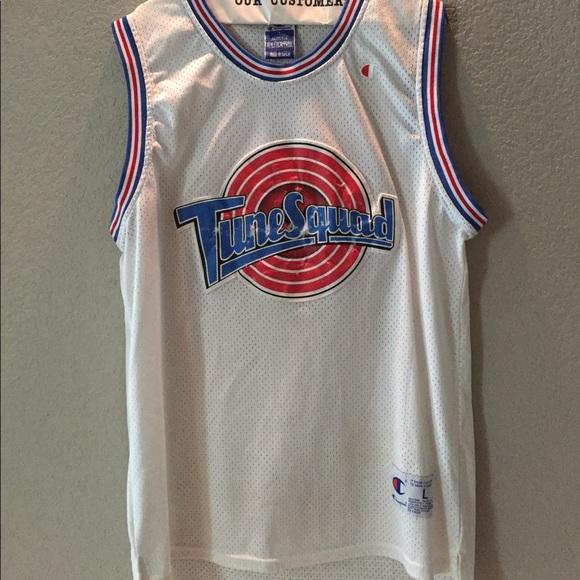 new product ec7ac 9ff00 Michael Jordan tune squad jersey